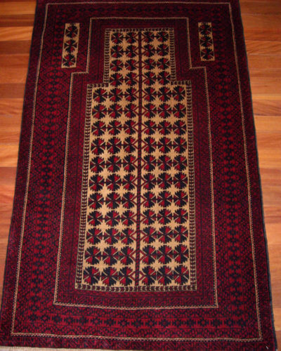 Afghan Beluchi Prayer Rug
