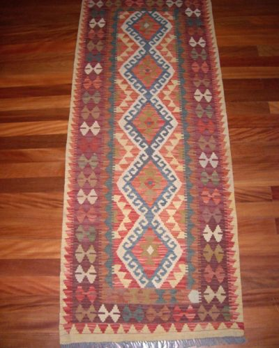 Afghan Traditional Kelim Runner