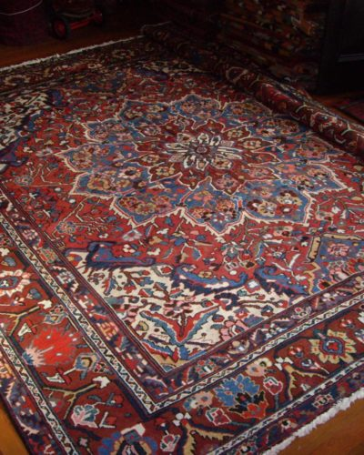 Old Persian Bachtiar carpet