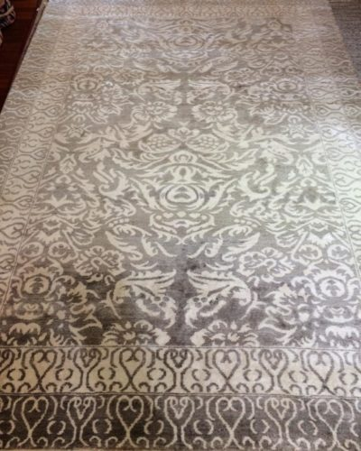 Bamboo silk carpet